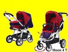 Kombi Kinderwagen Moon Tragetasche Sportwagen Aluminium Lufträder NEU Ausverkauf