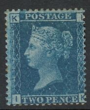 GB QV SG45 2d BLUE Plate 9 : lightly mounted mint