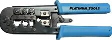Platinum Tools 12503C All-in-One Modular Plug Rj45 Rj11 Rj12 Rj22 Crimp Tool