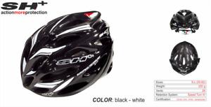 SH+ (SH Plus) Shot R1 Cycling Bicycle Helmet -Black/White(Was $184.99) Kask Giro