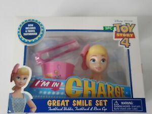 I'm In Charge Great Smile Set  Bo Peep Disney Toy Story 4 Pixar Toothbrush Set