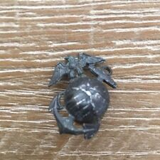Vintage Marine Corps USMC Eagle and Anchor Screw Back Insignia Metal Pin