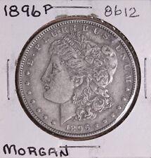 1896 P MORGAN SILVER DOLLAR 8612 EF