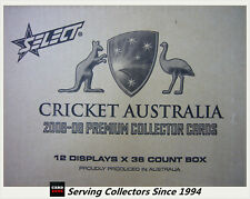 2008-09 Select Cricket Trading Cards Star Signature Card S6 Shaun Tait
