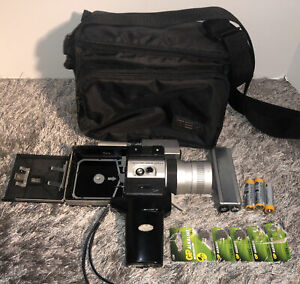 Canon Auto Zoom 518 Super 8 Movie Camera + Case, Tested & Working Read Details