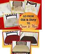 """EZ CHAIR COVERS ,DINING ROOM CHAIR COVERS,6 OR 4 COVERS MAX SIZE 22""""X20"""""""