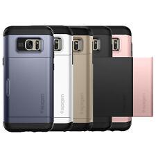 Spigen For Samsung Galaxy S7 [Slim Armor CS] Case Wallet Card Slot Cover TPU