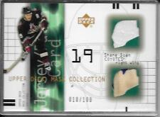 01-02 Mask Collection Shane Doan Jersey/2Clr Patch #d/100