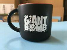 Giant Bomb Logo Black Coffee Mug Cup