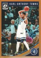2018-19 Donruss Optic Basketball Orange #145 Karl-Anthony Towns /199