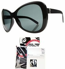 NEW Electric Magenta Black Grey Polarized Womens Oversize Sunglasses Msrp$150
