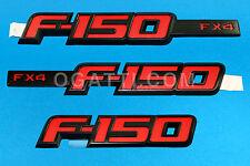 2012 KIT F150 EMBLEM BRAND NEW OEM FORD F-150 FX4 3-SET  09-12 #CL3Z-9942528-A