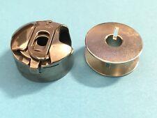 Compartiment à canette 6mm-largeur de point+ Bobine Pour PFAFF Hobbymatic,