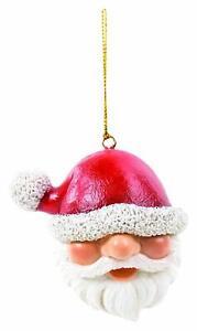 Vivid Arts - Hanging Christmas Head  - Santa- Decoration
