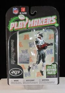 2012 McFarlane Playmakers Series 3 Darrelle Revis Jets Action Figure - 4 Inches