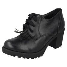Chaussures habillées à lacets en synthétique pour fille de 2 à 16 ans