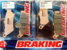 FOR HONDA NTV DEAUVILLE 650 1998 98 FRONT SINTERED BRAKE PADS BRAKING