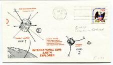 1977 International Sun-Earth Explorer ISEE-1 Delta Cape Canaveral ISEE-2 USA SAT