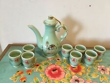Ceramic/ Porcelain Oriental Tea Set With 8 Cups