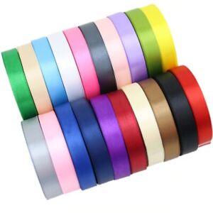 (25 yards/roll) Satin Ribbon Gift Packing Christmas decoration DIY Ribbons roll