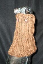 Brown Bears Color Italian Greyhound Dog Snood 2 wear w/ dog coat *100% Donation