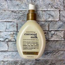 OGX Nourishing Coconut Milk Leave In Hair Conditioner Spray 6 oz