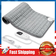 Electric Fast Heat Pad for Back Pain and Cramps Relief,6 Heat Settings