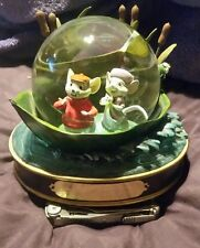 Walt Disney The Rescuers 30th Anniversary Musical Snow Globe Snowglobe - Rare