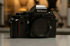 Nikon F3HP 35mm Body Only Film Camera - Black Excellent USA