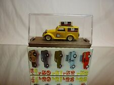 BRUMM R56 FIAT 500 A - ISOLABELLA - YELLOW 1:43 - EXCELLENT IN BOX