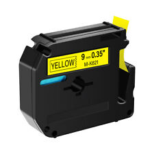Black On Yellow 9mm Tape For Brother P Touch Pt 90 Mk621 M K621 Label Maker 1pk