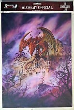 Brand New 3D Moving Picture Alchemy Official SNAGOV AQUARIUS Dragon Print
