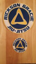 Rickson Gracie Jiu-Jitsu patch set