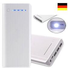 100000mah Power Bank Zusatzakku Mobile USB Ladegerät Universal Batterie WEISS