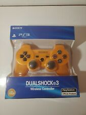 Genuine OEM Sony PS3 DualShock 3 Wireless Controller - Lure/Gold - Brand New