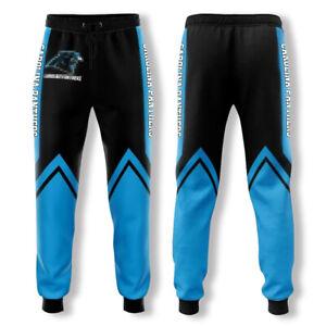 Carolina Panthers US Football Sweatpants Sport Pants Jogging Pant Casual Trouser