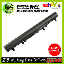 4Cell Battery for Acer Aspire V5 V5-431P V5-471G V5-531 V5-551 V5-571 AL12A32