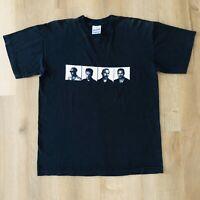 Vintage 1997 U2 PopMart Black Concert Tour Single Stitch TShirt Men's Size Large