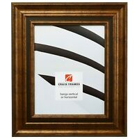 Craig Frames Appennine Classic, Aged Gold and Bronze Picture Frame