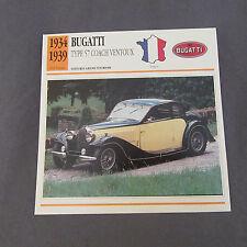 486C Edito Foglio Di Servizio Pieghevole Bugatti Coach Ventoux
