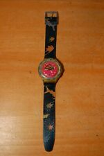 1991 Happy Fish Scuba 200 Swatch Watch, No Battery Cover