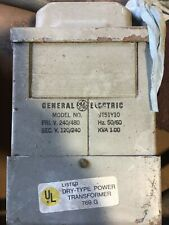 1 USED GENERAL ELECTRIC 9T51Y10 DRY-TYPE TRANSFORMER ***MAKE OFFER***