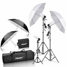 Photo Video Portrait Studio Setup Lighting Kit Vlog Youtube Equipment Portable