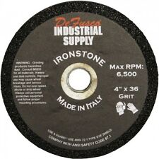 4 Inch Ironstone Grinding Wheels - Black Label - 36 Grit