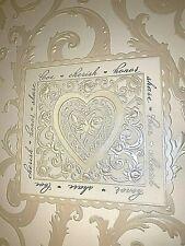Hallmark Scroll Wedding Memory Guest Book & Photo Album Stories Keepsake NOS