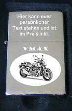 VMAX Feuerzeug VMAX als Bildgravur inkl. Textgravur auf dem Deckel