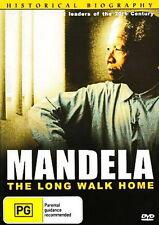 Mandela The Long Walk Home - Biography - NEW DVD