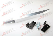 Silver Rear Sub-frame Lower Tie Bar For Honda Civic 01-05 EM/ES