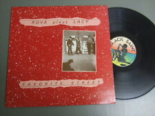 THE ROVA SAXOPHONE QUARTET Italy LP, ROVA plays LACY FAVORITE STREET