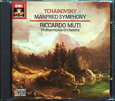 Riccardo MUTI: TCHAIKOVSKY Manfred Symphony EMI CD 1982 Philharmonia Orchestra